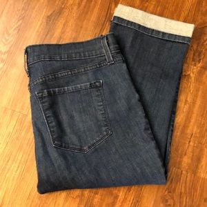 NYDJ cropped jeans. Size 10. Make me an offer!
